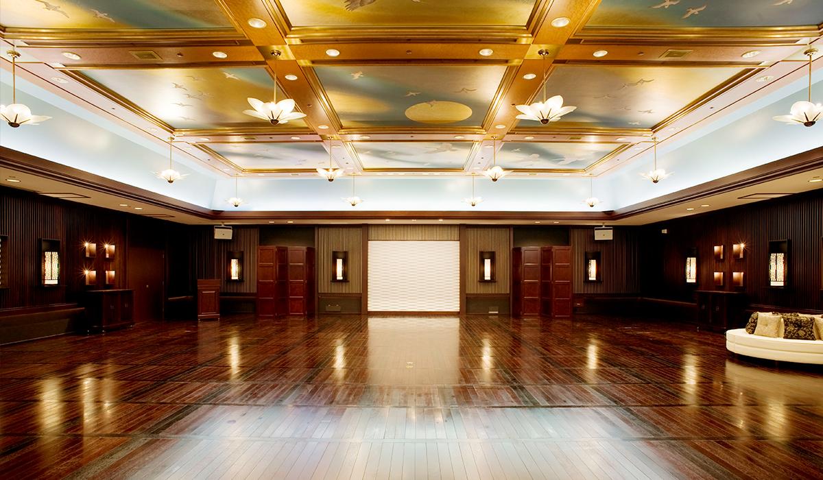 ホテル雅叙園東京の中宴会場「飛鳥」