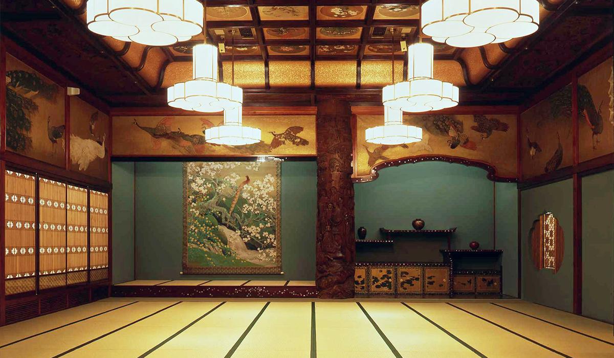 ホテル雅叙園東京の中宴会場「竹林」