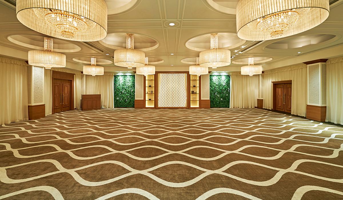 ホテル雅叙園東京の中宴会場「カシオペア」