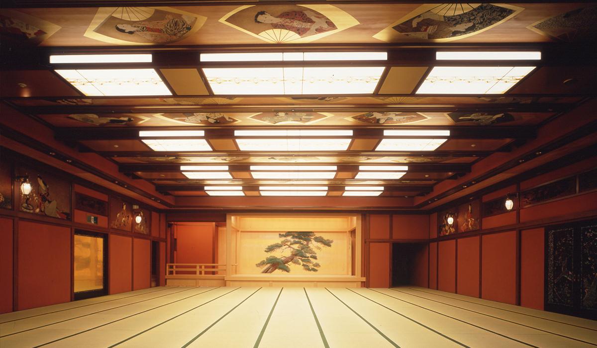 ホテル雅叙園東京の中宴会場「鷲」