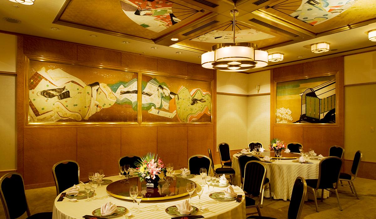 ホテル雅叙園東京の小宴会場「平安」