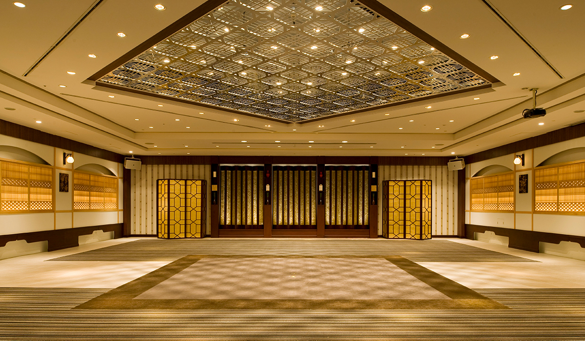 ホテル雅叙園東京の中宴会場「孔雀」
