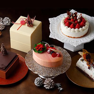 アートを極めた最上級のクリスマスケーキ