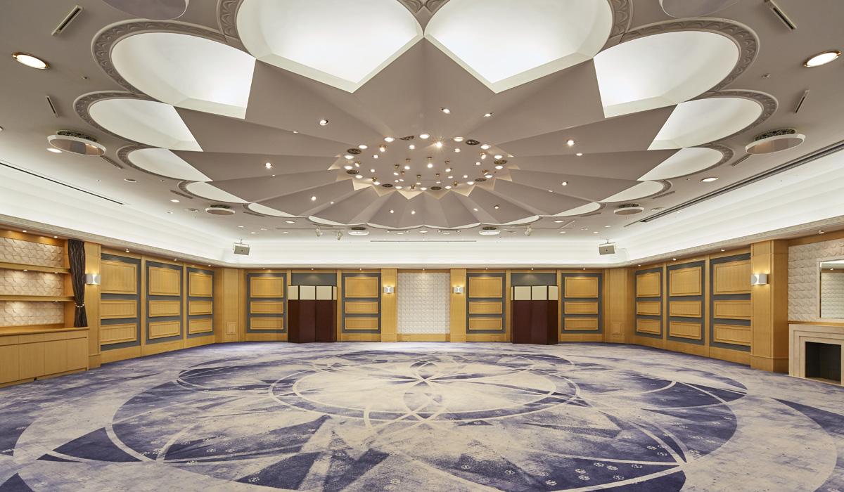 ホテル雅叙園東京の中宴会場「華しずか」