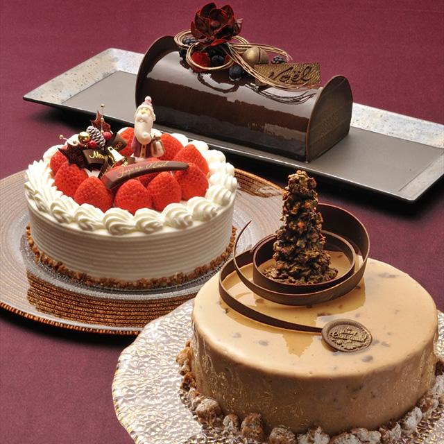 ホテル雅叙園東京のクリスマスケーキ