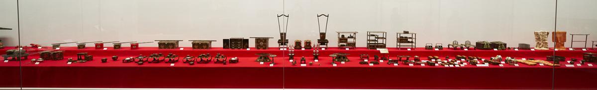 旧弘前藩主津軽家の雛道具/弘前市立博物館(青森・弘前)