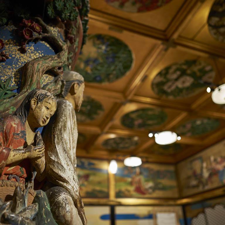文化財を舞台に表現する空間アート