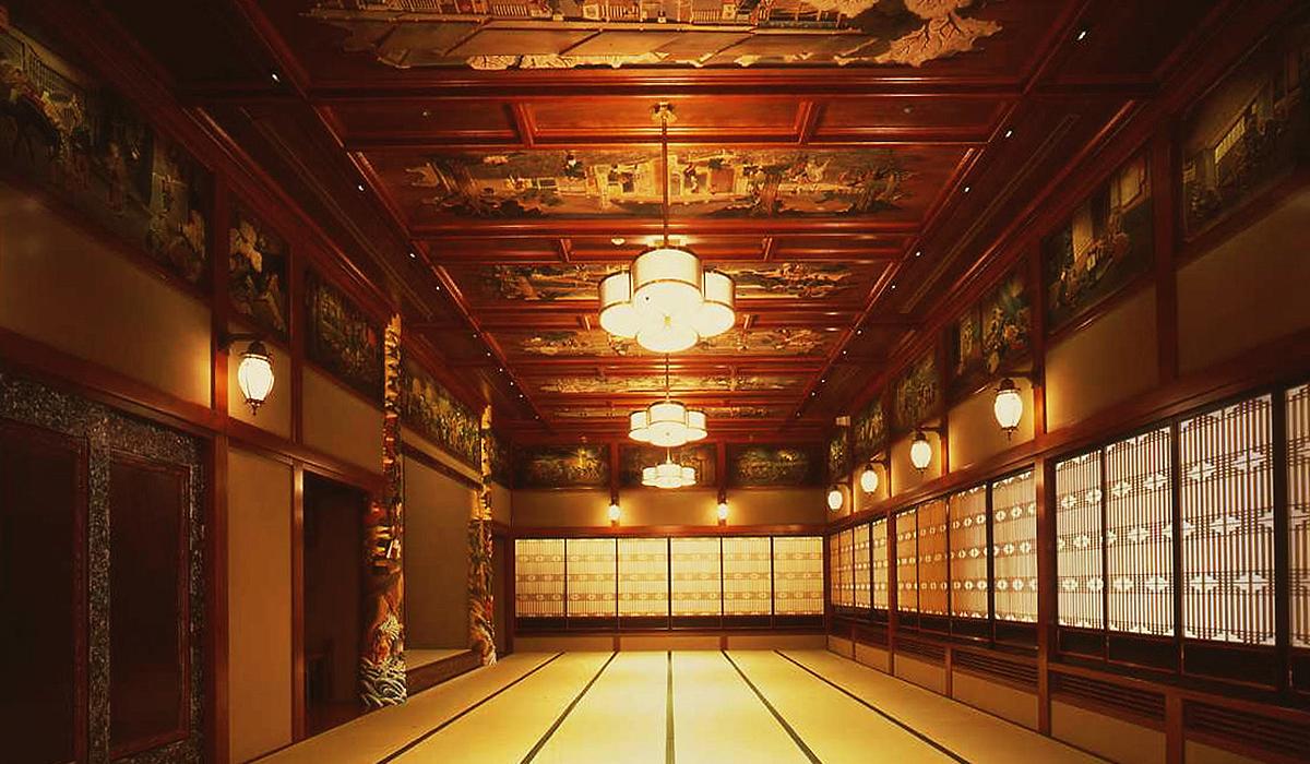 ホテル雅叙園東京の小宴会場「牛若」