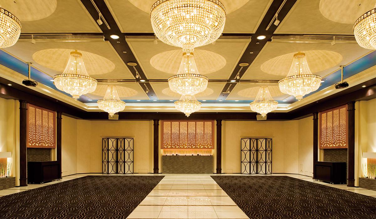 ホテル雅叙園東京の中宴会場「オリオン」