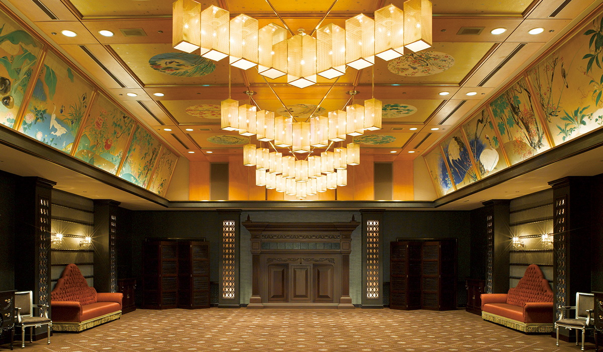 ホテル雅叙園東京の中宴会場「清風」