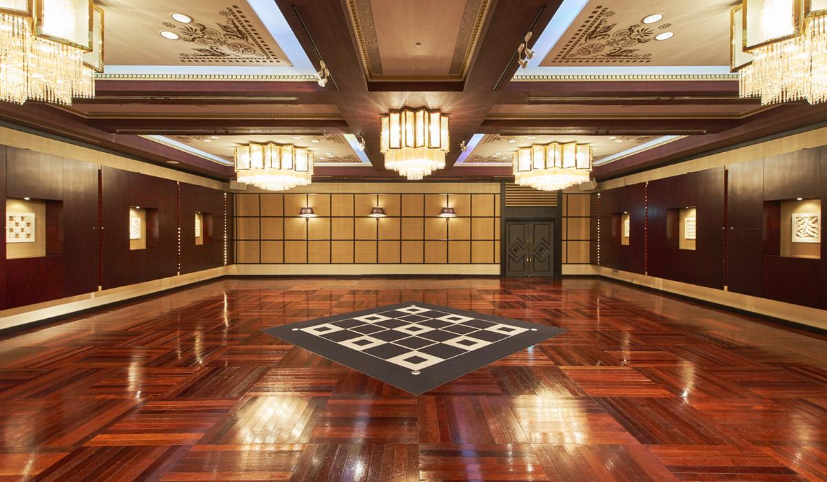 ホテル雅叙園東京の中宴会場「ペガサス」
