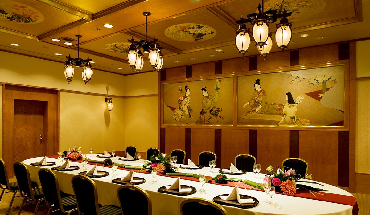 ホテル雅叙園東京の小宴会場「元禄」