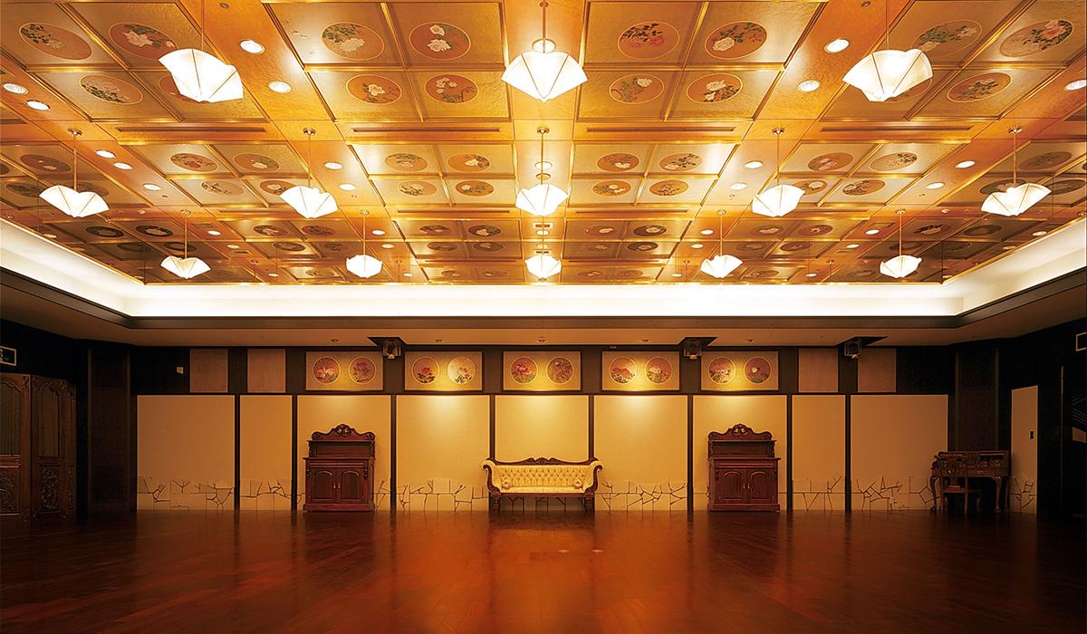 ホテル雅叙園東京の中宴会場「花苑」