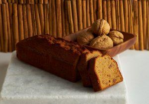 胡桃シナモンのパウンドケーキ