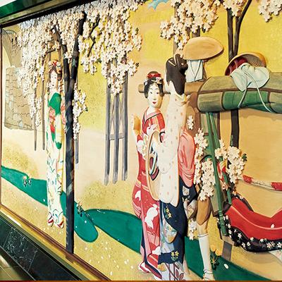 彩色木彫板