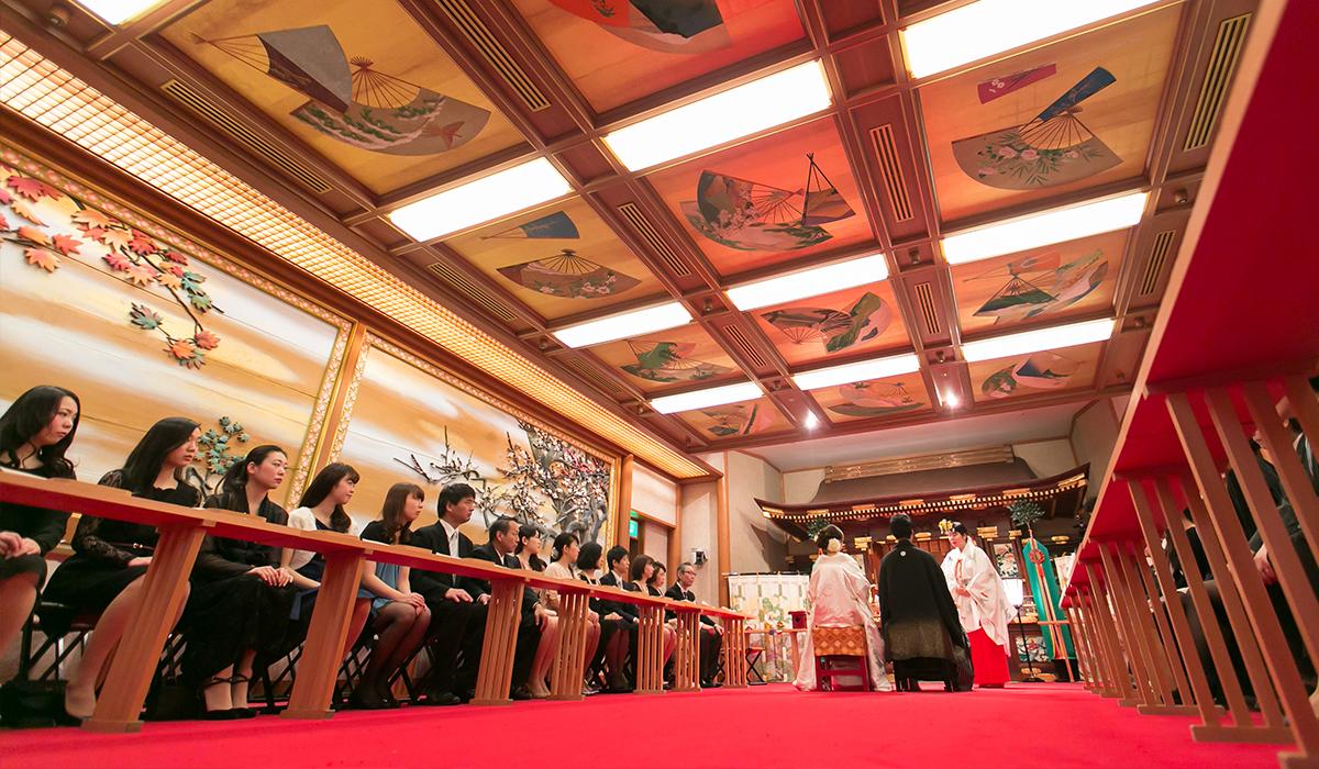 日本初の総合結婚式場