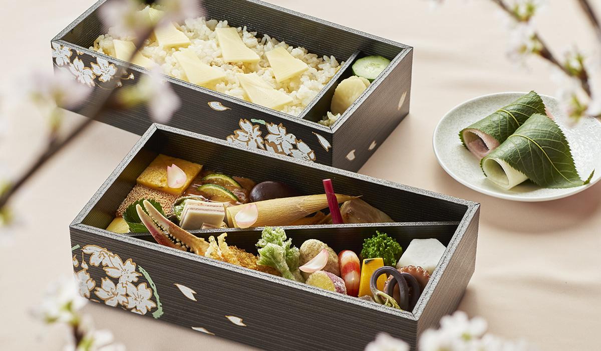 日本料理「渡風亭」 お花見弁当