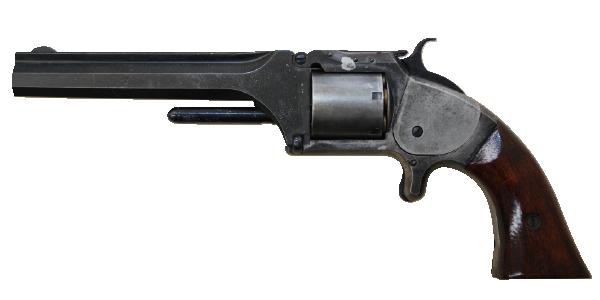 窮地を救ったピストル スミス&ウェッソンⅡ型アーミー 32口径(模型)