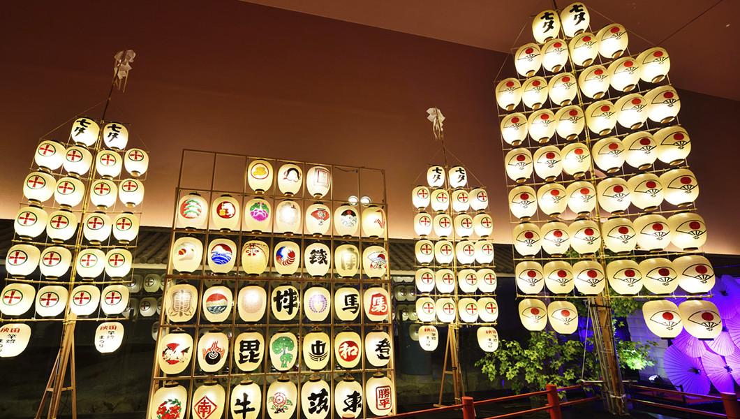 「秋田竿燈まつり」