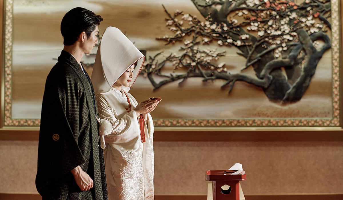 挙式 夫婦固めの儀