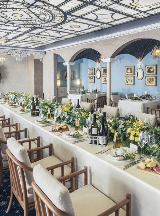 【カノビアーノ】一軒家貸切の特別な空間でゲストをおもてなし。最高のお料理とサービスで当日をお迎えします。