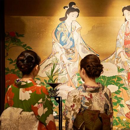 日本の美を満喫する着物プラン