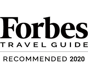 Forbes TRAVEL GUIDE RECOMMENDED 2020