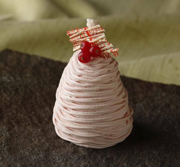 あきひめ苺のモンブラン