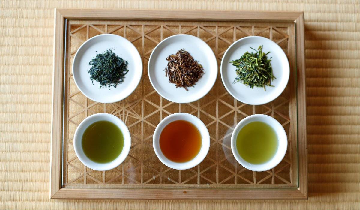 厳選3種のお茶飲み比べ