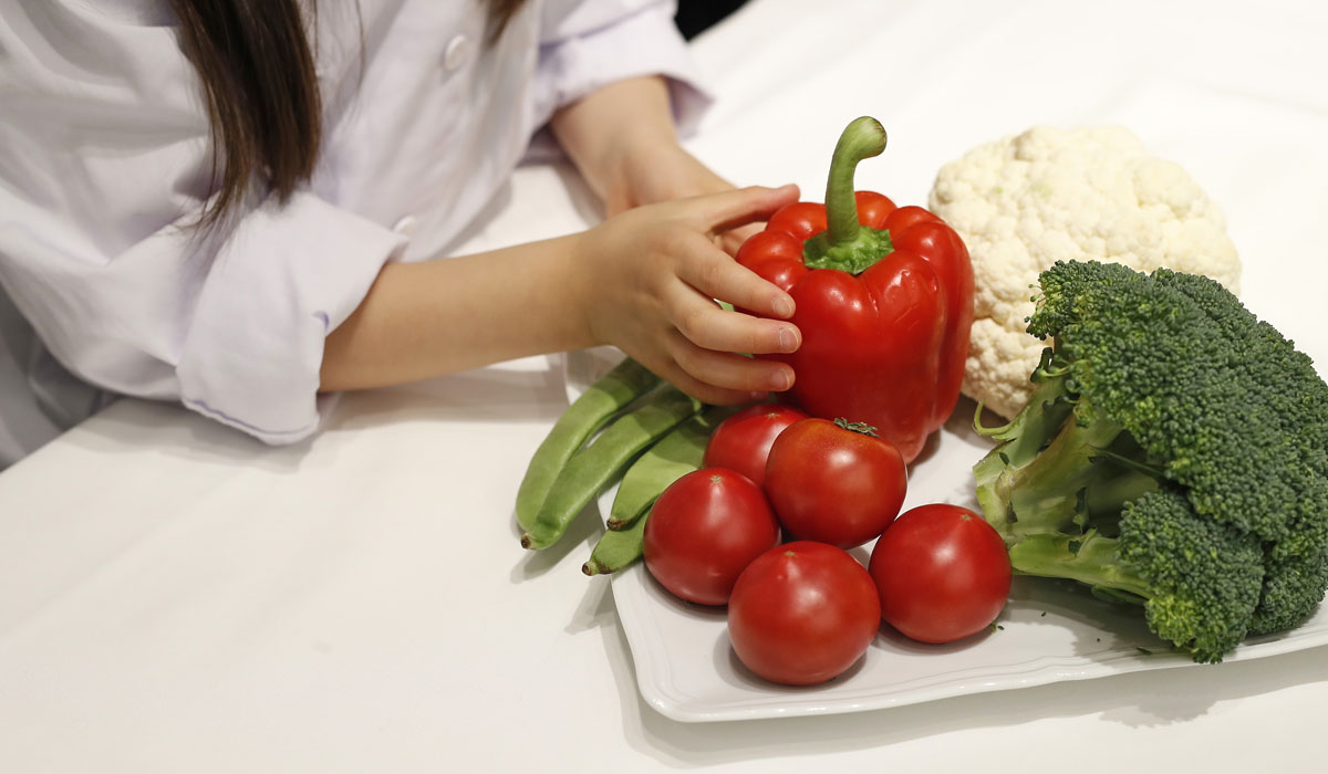 夏休み自由研究企画 見て触れて学ぶ~食体験~