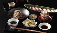 炙り寿司と稲庭蕎麦ランチ